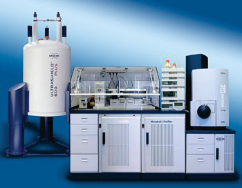 Imagen: el sistema de análisis metabólico basado en resonancia magnética nuclear (NMR) y espectrometría de masas (EM) (Fotografía cortesía de Bruker BioSpin).