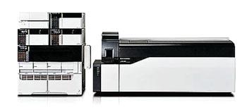 Imagen: El espectrómetro de masas cuadropolo triple, LCMS-8050 CL (Fotografía cortesía de Shimadzu).