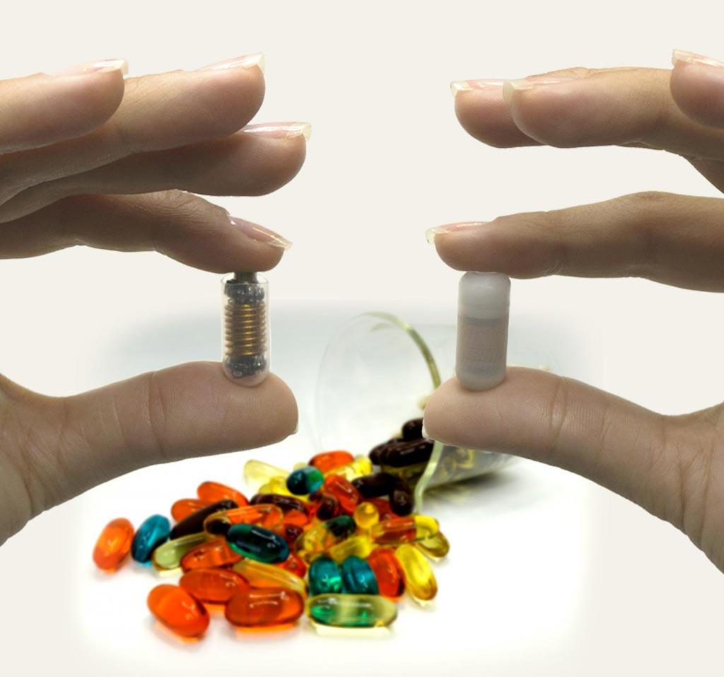 Imagen: Los ensayos clínicos recientes, de fase I, sugieren que las píldoras inteligentes pueden tener potencial para revolucionar el diagnóstico y la prevención de varios trastornos intestinales (Fotografía cortesía de la Universidad RMIT).