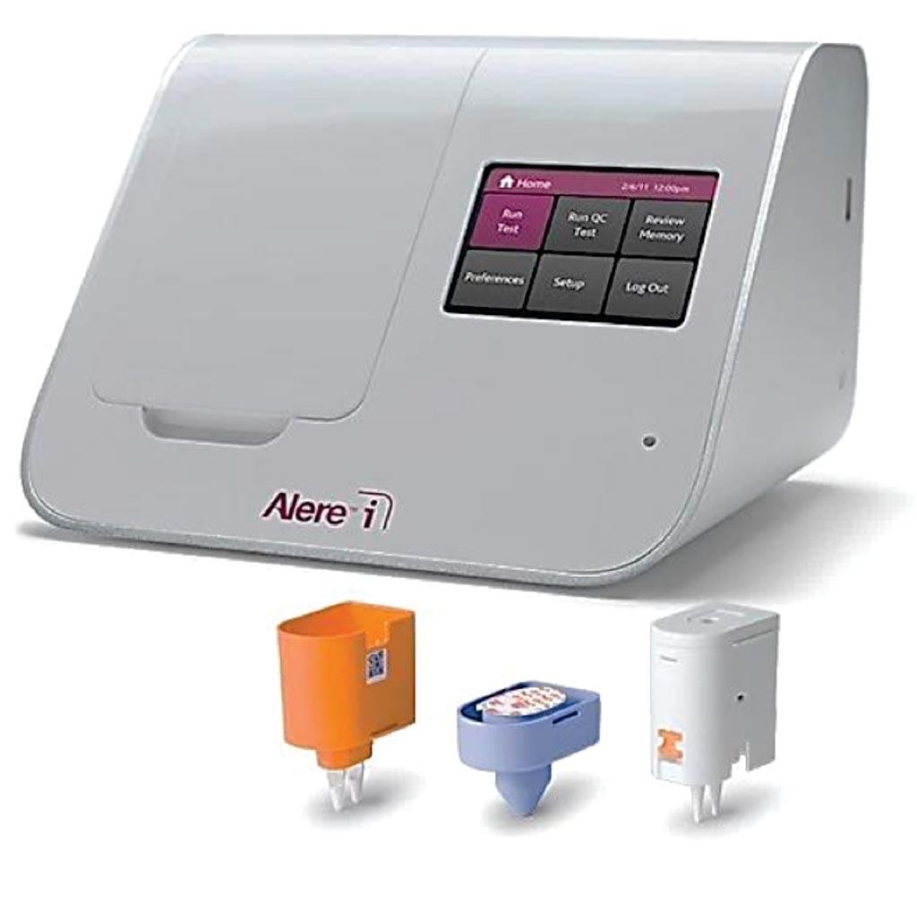 Imagen: El ensayo Alere i RSV está diseñado para detectar rápida y fácilmente el virus sincitial respiratorio (Fotografía cortesía de Alere).