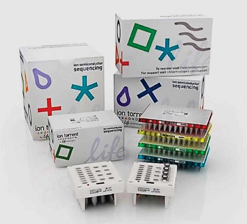 Imagen: Los kits de preparación de la biblioteca Ion Ampliseq (Fotografía cortesía de Thermo Fisher Scientific).