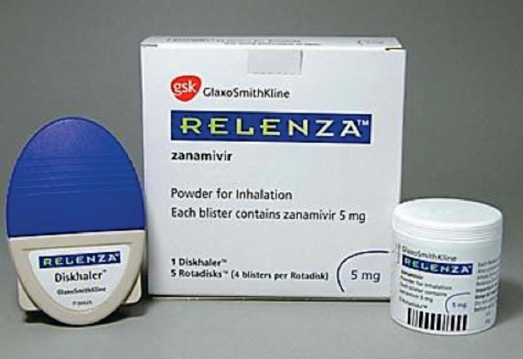 Imagen: El Relenza (zanamivir) es un polvo de inhalación, formulado para el tratamiento y la prevención de la influenza (Fotografía cortesía de GlaxoSmithKline).