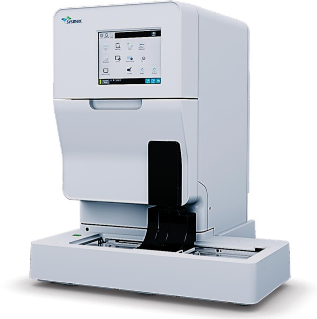Imagen: El analizador de orina totalmente automatizado UF-5000 (Fotografía cortesía de Sysmex Europa).