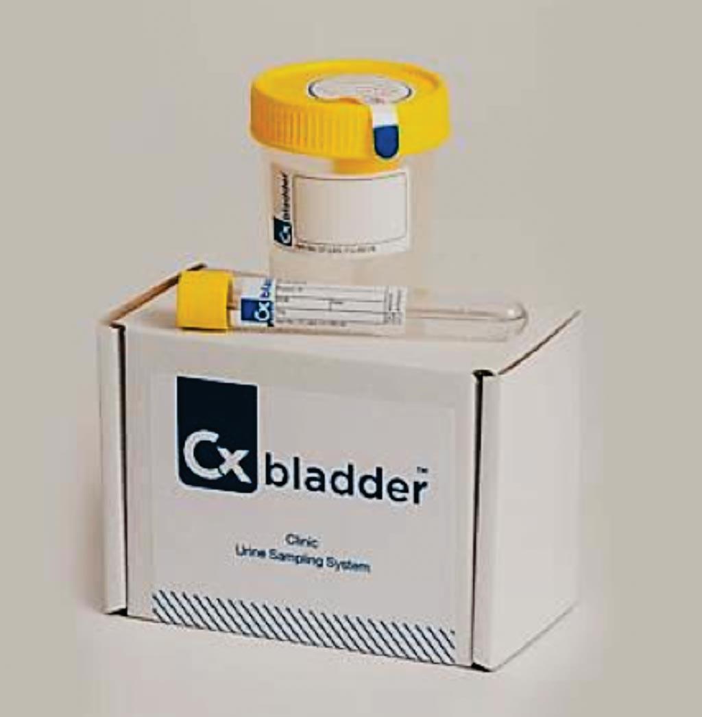 Imagen: El análisis Cxbladder es una prueba de laboratorio no invasiva en orina que es exacta, fácil de usar y clínicamente validada; mide los niveles de expresión génica de cinco biomarcadores que eliminan o detectan efectivamente la presencia de cáncer de vejiga (Fotografía cortesía de Pacific Edge).