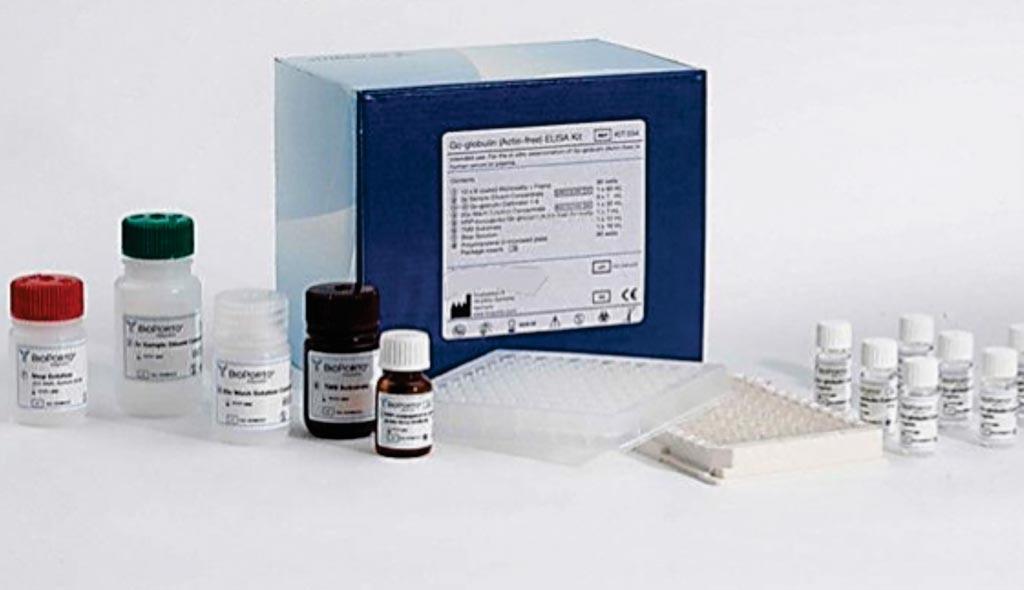Imagen: Kit de análisis inmunoabsorbente ligado a enzimas (ELISA) en sándwich para la troponina I cardiaca (Fotografía cortesía de Cell Biolabs).