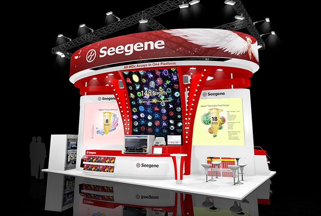 Imagen: En ECCMID 2018, Seegene exhibió su sistema de diagnóstico molecular SGSTAR, que permite que el proceso orden a reporte suceda en el mismo día y permite la ejecución de la prueba de combinación (Fotografía cortesía de Seegene).