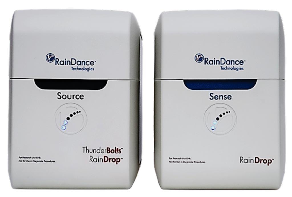 Imagen: El sistema de PCR digital RainDrop (Fotografía cortesía de RainDance Technologies).