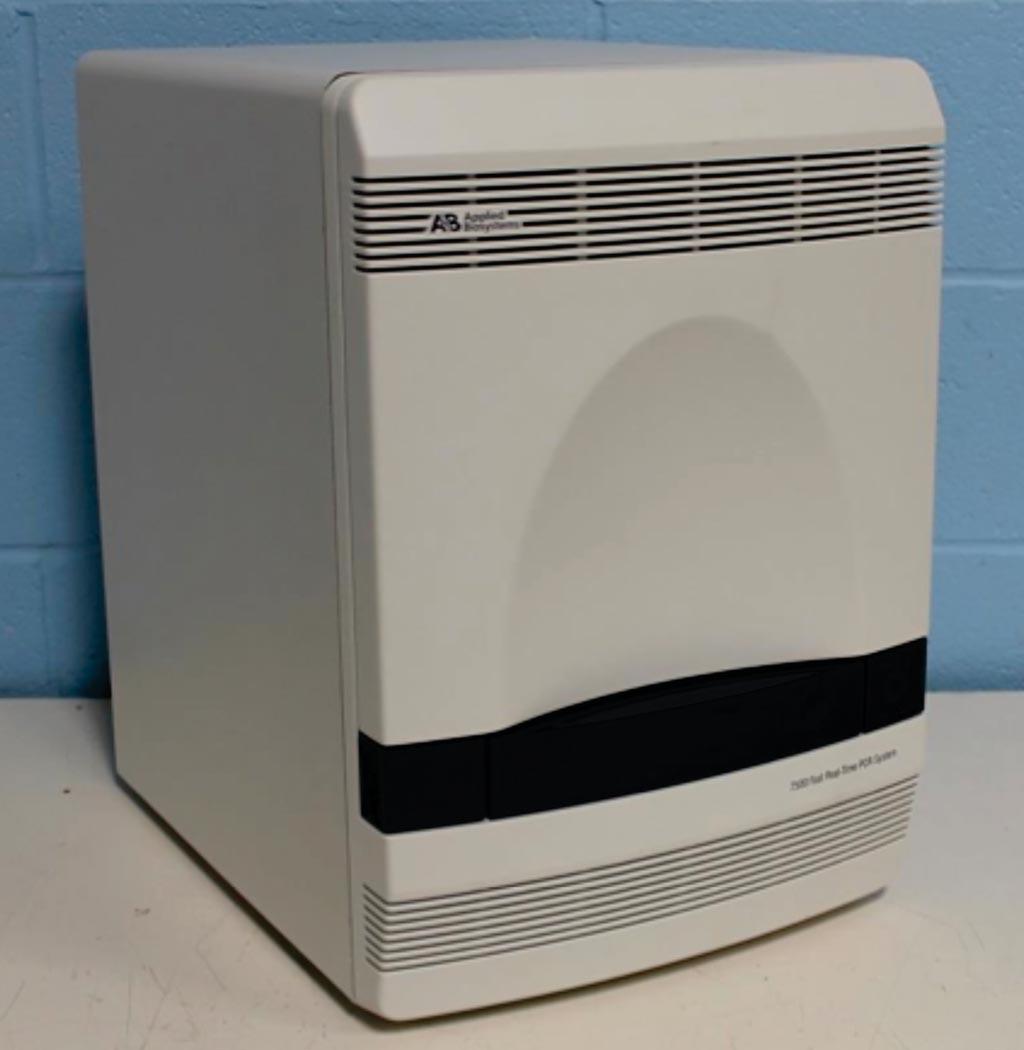 Imagen: El sistema de PCR en tiempo real, ABI 7500 (Fotografía cortesía de Thermo Fisher Scientific).