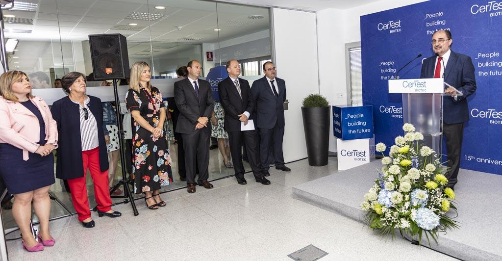 Imagen: CerTest Biotec ha abierto una nueva instalación en España para I+D y la fabricación de productos de diagnóstico molecular (Fotografía cortesía de CerTest Biotec).