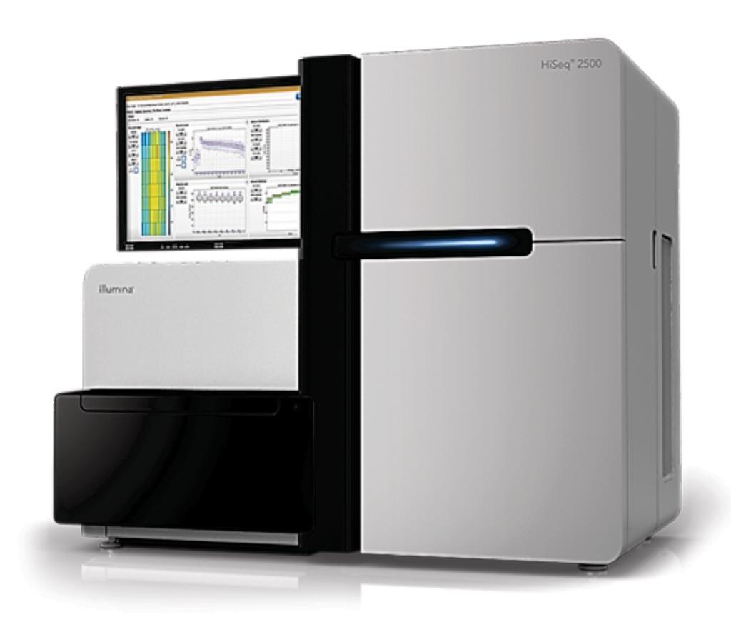 Imagen: El sistema HiSeq 2500 es un sistema potente de secuenciación de alto rendimiento (Fotografía cortesía de Illumina).