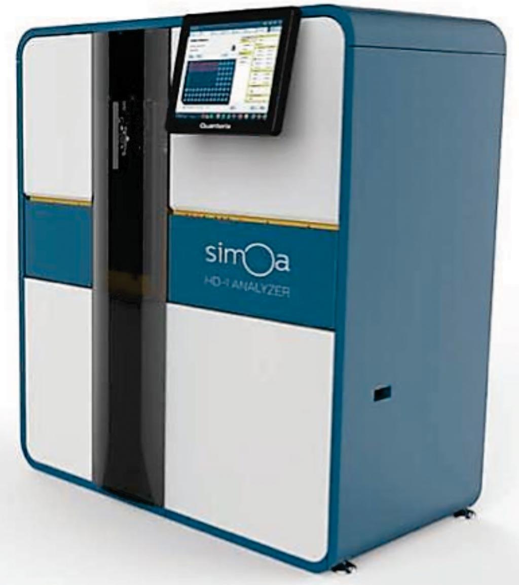 Imagen: El analizador Simoa Single Molecule Array HD-1 (Fotografía cortesía de Quanterix).