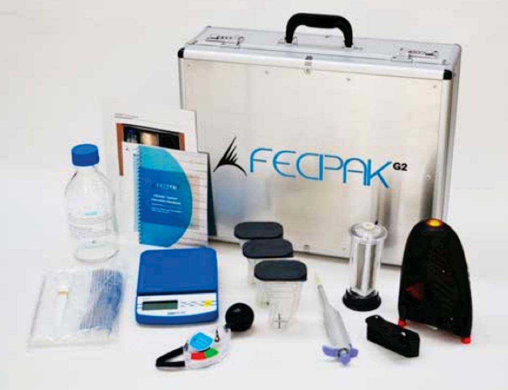 Imagen: La FECPAKG2 es una herramienta completa de evaluación de parásitos para ubicaciones remotas (Fotografía cortesía del Grupo Techion).