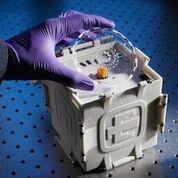 Imagen: El sistema SpinDx (Fotografía cortesía de los Laboratorios Nacionales Sandia).