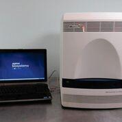 Imagen: El sistema de PCR en tiempo real, ABI 7500 (Fotografía cortesía de Applied Biosystems).