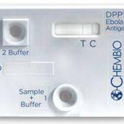 Imagen: El Sistema y Lector de antígeno de DPP Ébola recibieron la autorización para uso en emergencias (Fotografía cortesía de Chembio Diagnostic Systems).