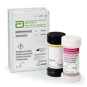 Imagen: El análisis ARCHITECT B.R.A.H.M.S PCT, que consiste en un inmunoensayo de dos pasos que utiliza la tecnología de inmunoensayo de micropartículas quimioluminiscente (CMIA) (Fotografía cortesía de Abbott Laboratories).