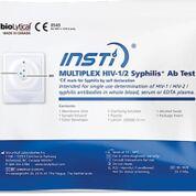Imagen: La prueba de anticuerpos Insti Multiplex HIV-1/HIV-2/Sífilis (Fotografía cortesía de bioLytical Laboratories).