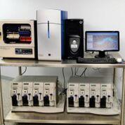 Imagen: El escáner de Microarrays Affymetrix Genechip 3000 y el Autocargador Fluymics Station 450 (Fotografía cortesía de New-life Scientific).