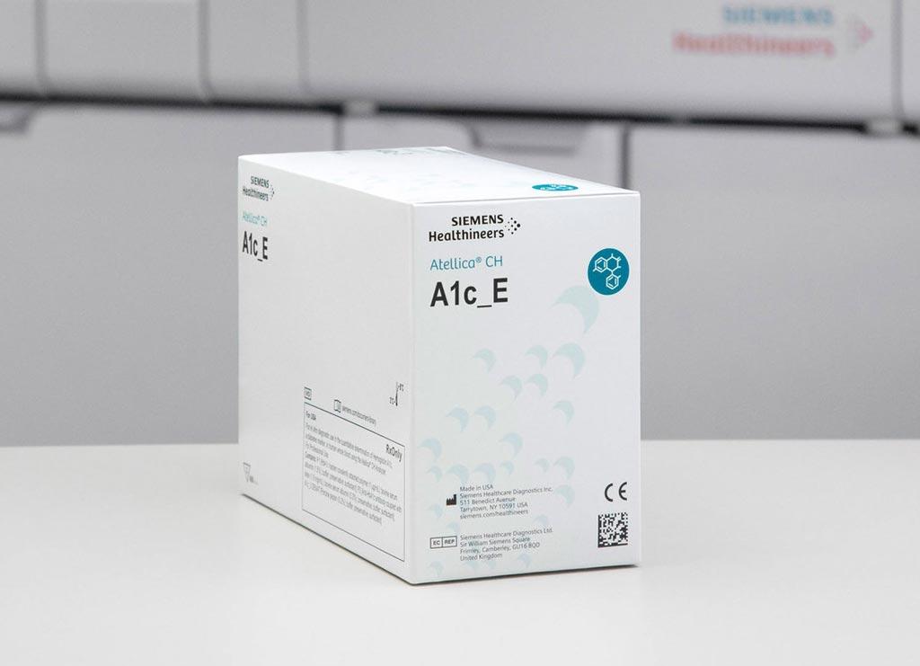 Imagen: El ensayo de hemoglobina enzimática A1c (A1c_E) Atellica CH (Fotografía cortesía de Siemens Healthineers).