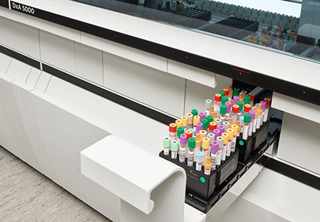 Imagen: La solución de automatización total de laboratorios DxA (Fotografía cortesía de Beckman Coulter).