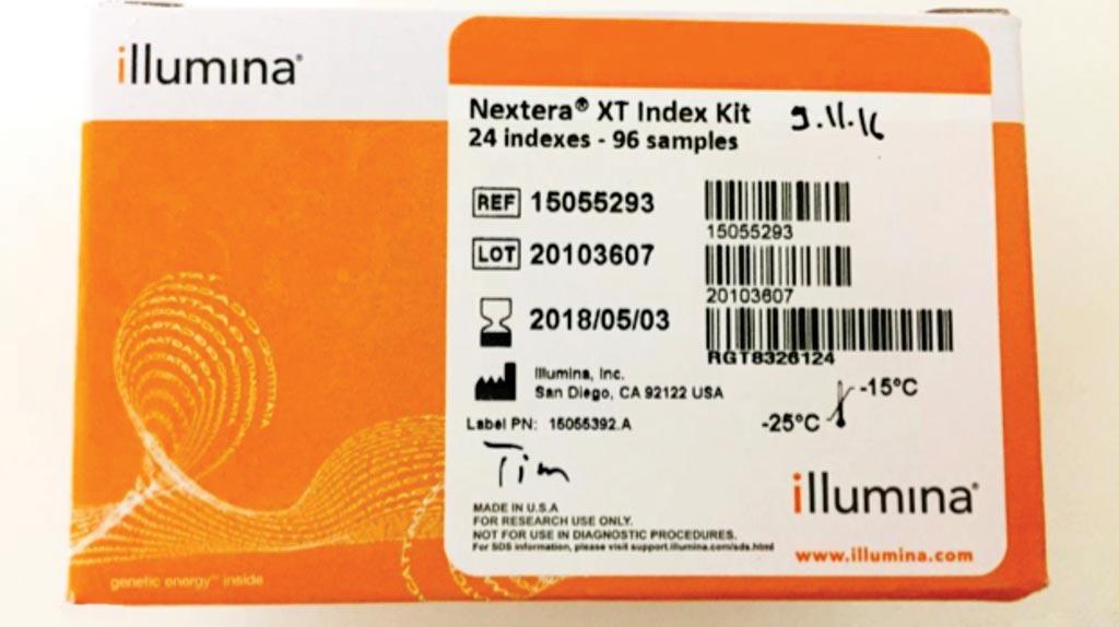 Imagen: El kit Nextera XT Index se usa para preparar bibliotecas de secuenciación del genoma completo para aislamientos bacterianos (Fotografía cortesía del Dr. Thippeswamy Sannasiddappa).