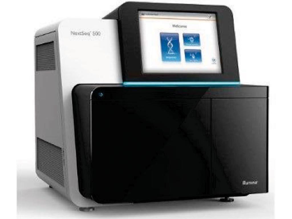 Imagen: El secuenciador NextSeq 500 de próxima generación (Fotografía cortesía de Illumina).