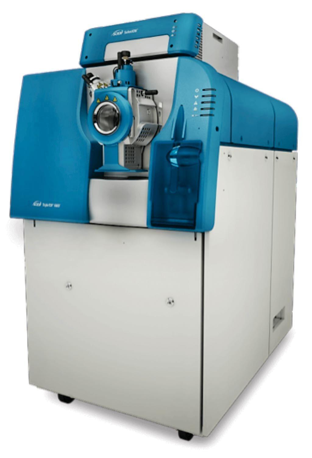 Imagen: El analizador de masa TripleTOF 6600 Cuadrupolo Tiempo de vuelo (QTOF) (Fotografía cortesía de Sciex).