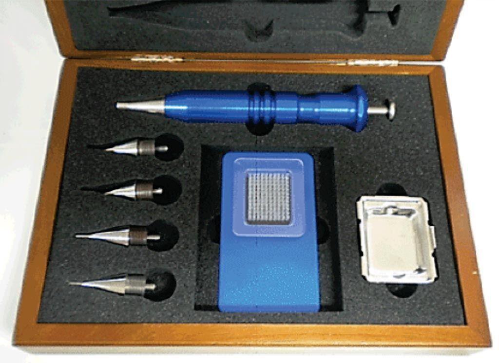Imagen: El Microarrayer Manual de Tejidos Quick-Ray (Fotografía cortesía de Unitma).