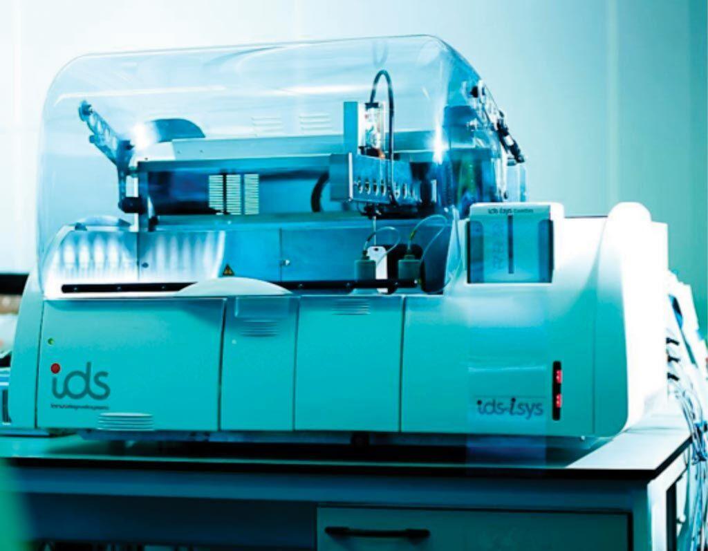 Imagen: El inmunoanalizador totalmente automatizado IDS-iSYS (Fotografía cortesía de IDS Nordic).