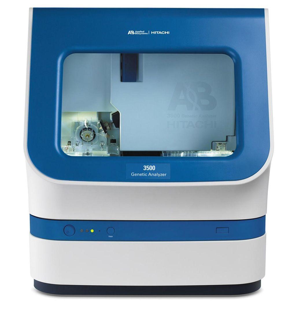 Imagen: El analizador genético ABI PRISM 3500 (Fotografía cortesía de Applied Biosystems)