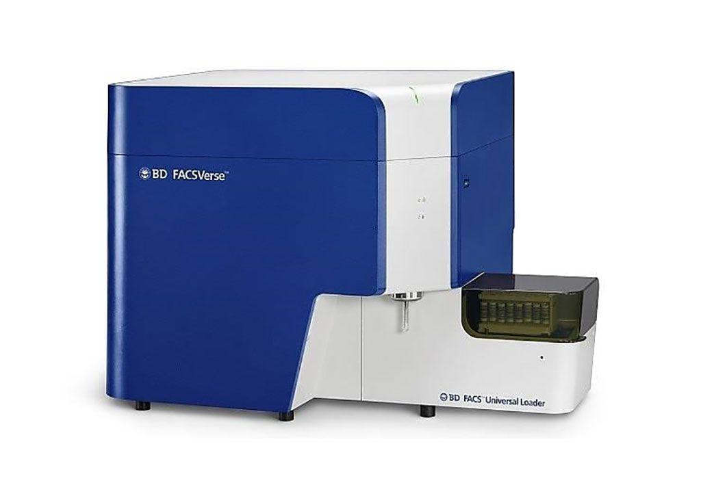 Imagen: El citómetro de flujo BD FACSVerse (Fotografía cortesía de BD Biosciences).