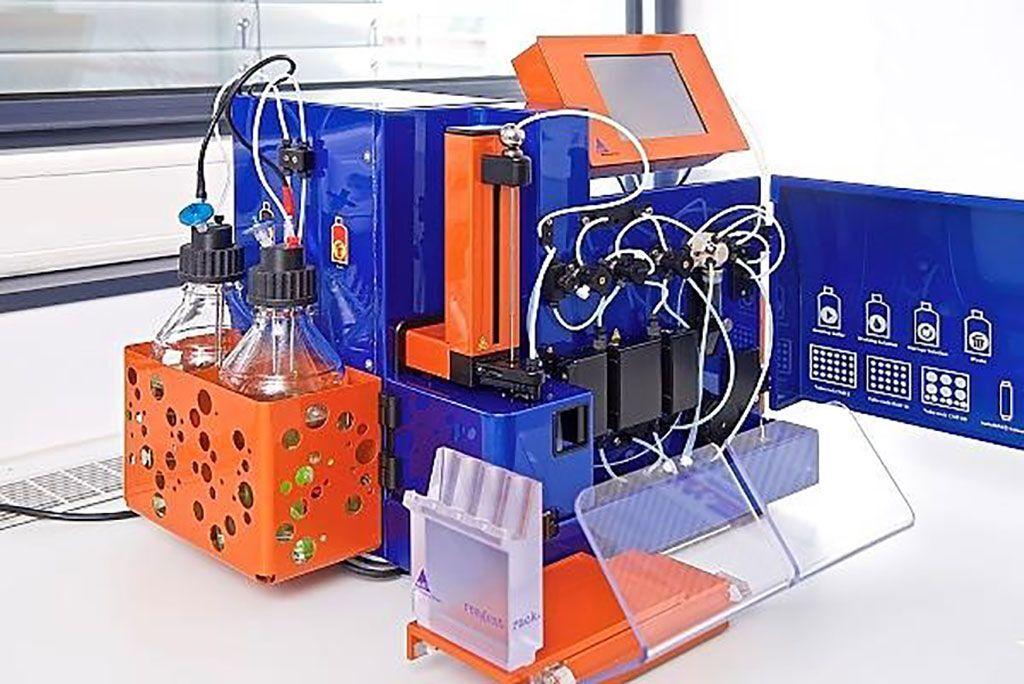 Imagen: La tecnología MACS es un método rápido y suave para el aislamiento de células viables y funcionalmente activas mediante etiquetado magnético (Fotografía cortesía de la Universidad de Constanza).