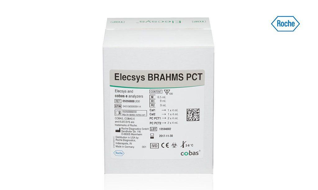 Imagen: El ensayo Elecsys BRAHMS PCT (procalcitonina) puede realizar la evaluación del riesgo de mortalidad y el manejo de los pacientes con sepsis. Con un tiempo de duración corta, de solo 18 minutos, el ensayo PCT BRAHMS de Elecsys se puede agregar fácilmente a cualquiera de las plataformas de inmunoanalizadores automatizados Cobas (Fotografía cortesía de Roche Diagnostics).