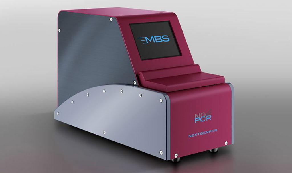 Imagen: El Termociclador NEXTGENPCR (Fotografía cortesía de Molecular Biology Systems, B.V.)