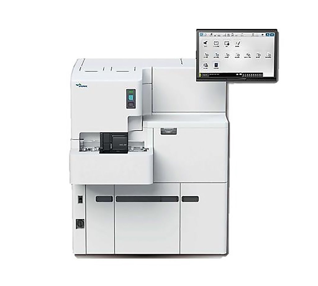 Imagen: El HISCL-5000 es un analizador de inmunoensayo totalmente automatizado con un rendimiento de 200 pruebas por hora (Fotografía cortesía de Sysmex).