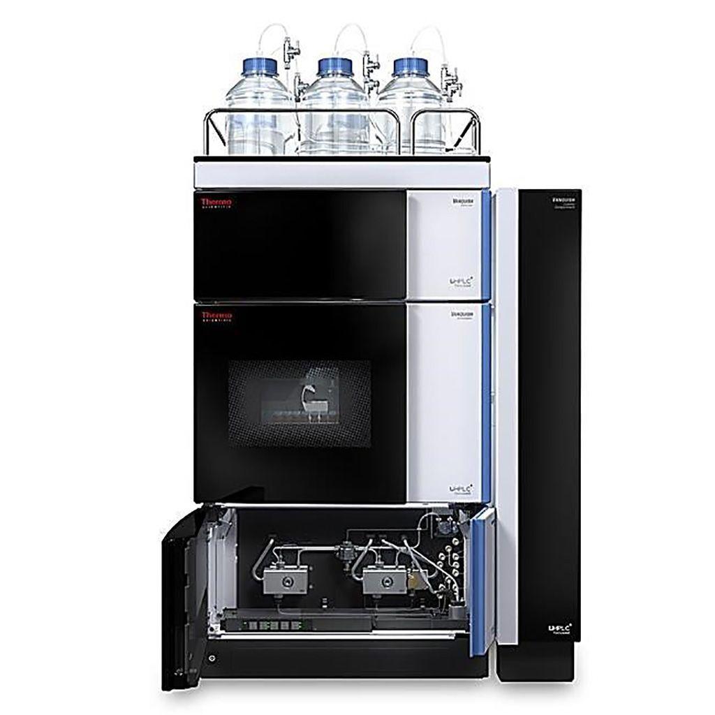 Imagen: Los sistemas de cromatografía líquida de ultra alto rendimiento, Vanquish Flex (UHPLC) (Fotografía cortesía de Thermo Fisher Scientific).