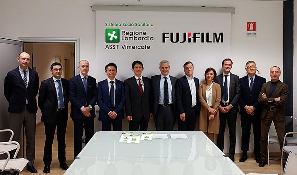 Imagen: Plataforma de IA de Fujifilm, REiLI elegida por el Hospital ASST Vimercate para apoyar a los operadores en la lucha contra la COVID-19 (Fotografía cortesía de Fujifilm Medical Systems)