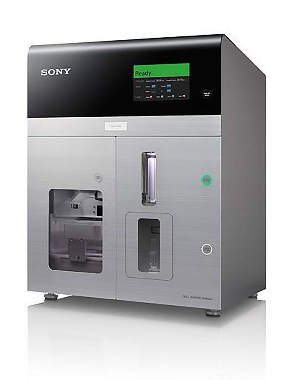 Imagen: El clasificador de células SH800S de sobremesa permite la clasificación de una amplia gama de tamaños celulares para muchas aplicaciones que utilizan chips de clasificación microfluídica de 70 μm, 100 μm y 130 μm (Fotografía cortesía de Sony Biotechnology).