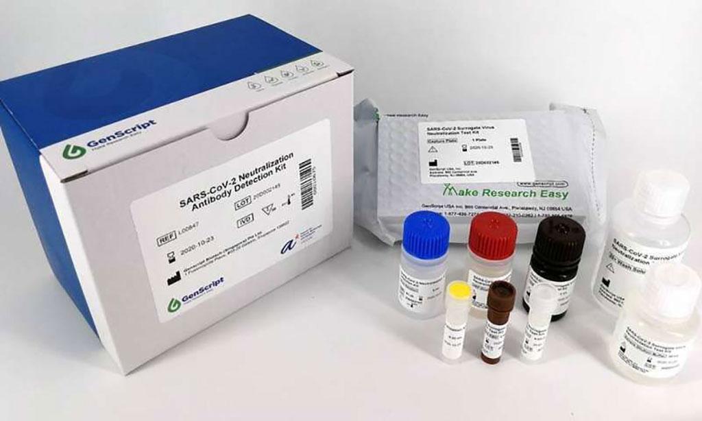 Imagen: Kit de detección de anticuerpos neutralizantes del SARS-CoV-2 (Fotografía cortesía de GenScript Biotech)