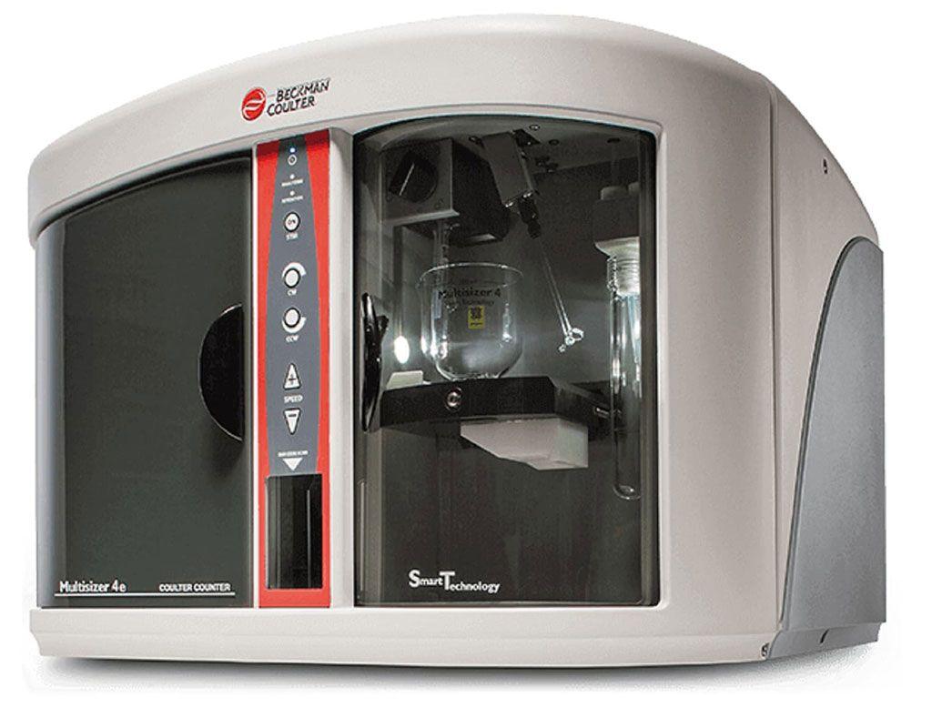 Imagen: El Contador Coulter Multisizer 4e es un sistema de recuento y caracterización de partículas altamente versátil (Fotografía cortesía de Beckman Coulter).