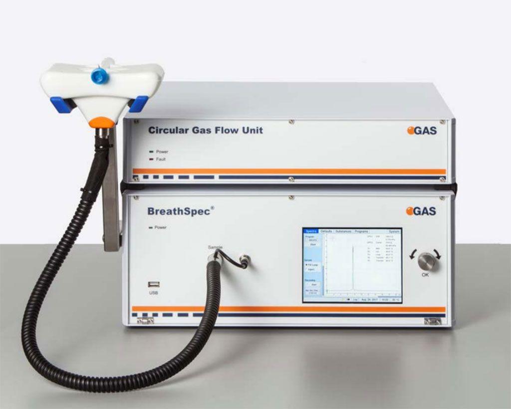 Imagen: El BreathSpec fue diseñado para el análisis de perfiles metabólicos de COV (compuestos orgánicos volátiles) en el aliento humano (Fotografía cortesía de IMSPEX)