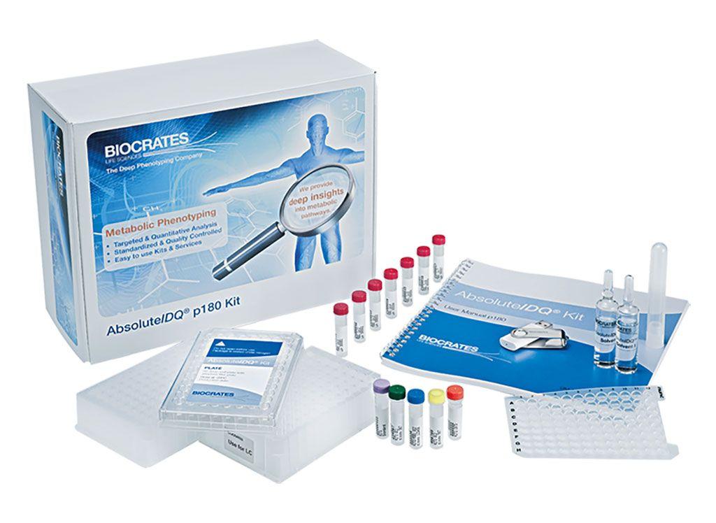 Imagen: El kit AbsoluteIDQ p180 proporciona a los científicos datos de metabolómica altamente reproducibles para obtener conocimiento detallado confiable sobre los fenotipos metabólicos en sus estudios (Fotografía cortesía de BIOCRATES Life Sciences).