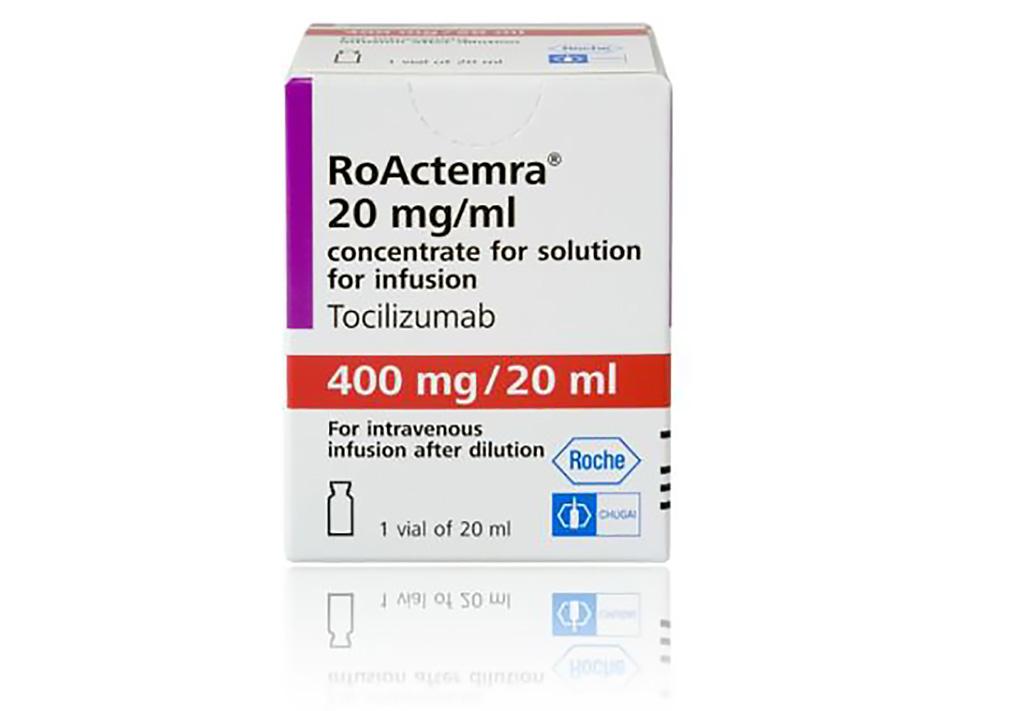 Imagen: Medicamento antiinflamatorio, tocilizumab (Actemra) (Fotografía cortesía de Roche)