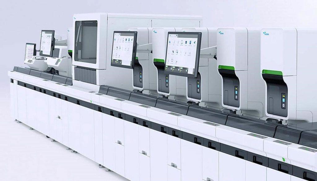 Imagen: El analizador de hematología automatizado XN-9000 (Fotografía cortesía de Sysmex Corporation).