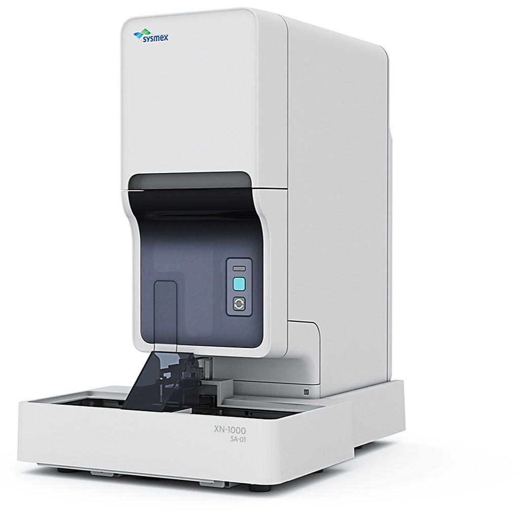 Imagen: Intervalos de referencia hematológica definidos para recién nacidos en el analizador hematológico automatizado XN-1000 (Fotografía cortesía de Sysmex Corporation).