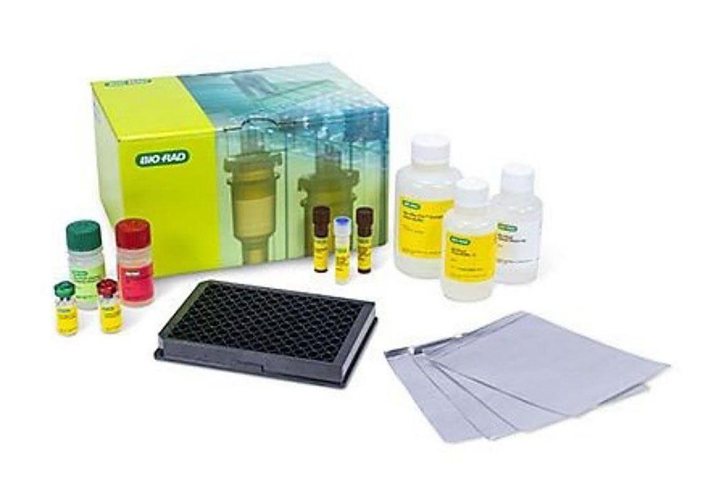 Imagen: El panel 48 plex de Detección de Citoquinas Humanas Bio-Plex Pro (Fotografía cortesía de Bio-Rad Laboratories).