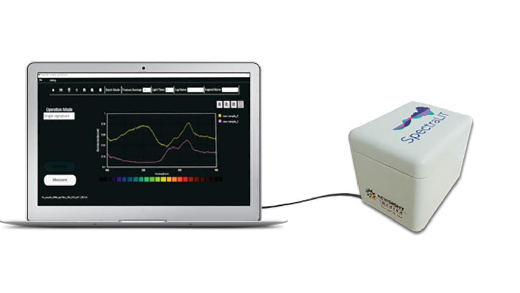 Imagen: El dispositivo SpectraLIT (Fotografía cortesía de Newsight Imaging Ltd.)