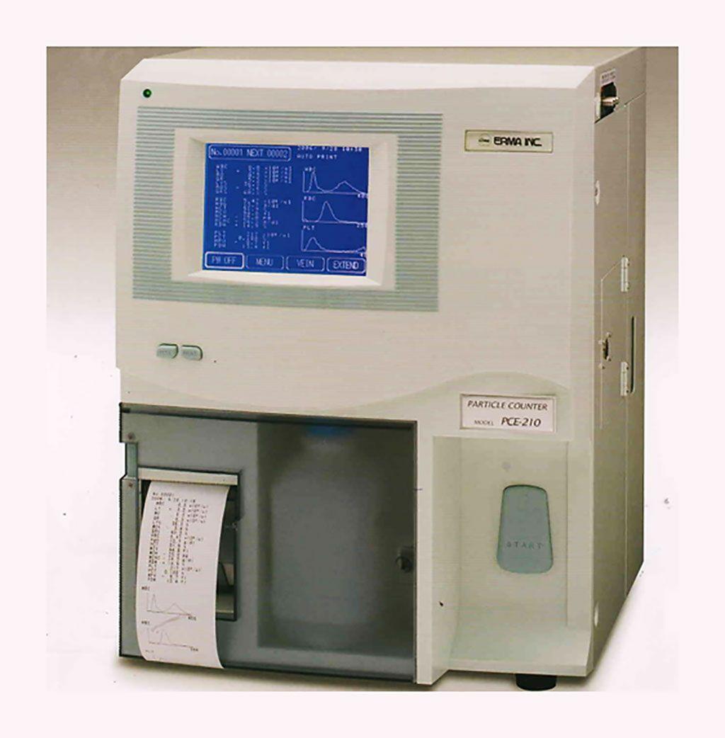Imagen: El contador de células totalmente automático ERMA PCE-210N (Fotografía cortesía de ERMA)