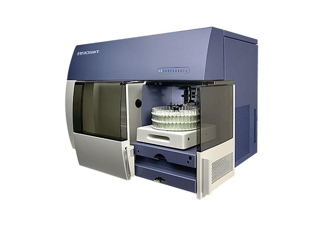 Imagen: Citómetro de flujo BD FACSCanto II (Fotografía cortesía de BD Biosciences)