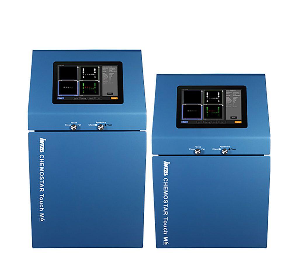 Imagen: El CHEMOSTAR Touch ECL y el detector de imágenes Fluorescence (Fotografía cortesía de INTAS)